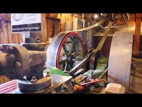 Western Museum Of Mining & Industry - Indoor Working Stamp Mill