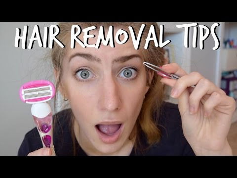 HAIR REMOVAL TIPS | From Head To Toe thumbnail