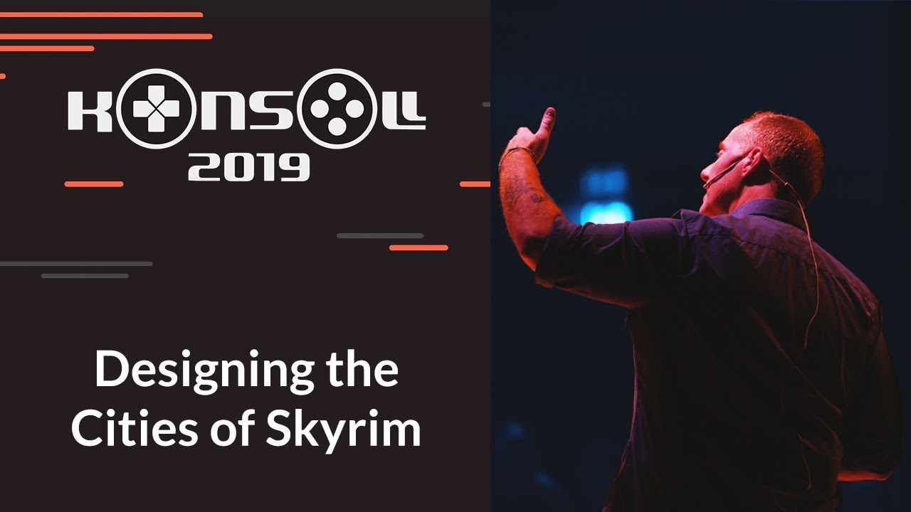 Download Konsoll 2019: Emil Pagliarulo - Designing the Cities of Skyrim
