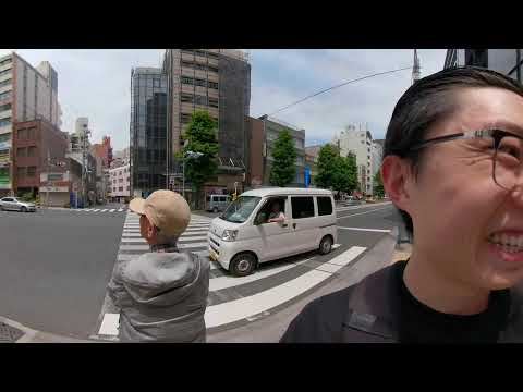 Street Photography Video Camera Technique + Street Portrait Tokyo GOPRO FUSION VIRTUAL REALITY