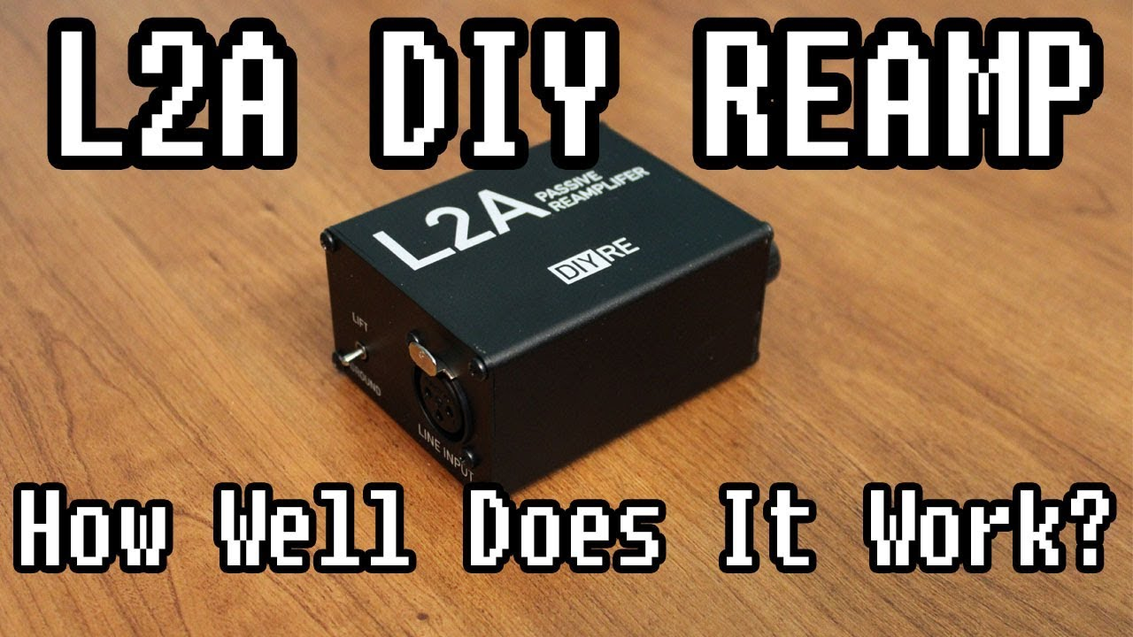 l2a diy reamp box build and demo youtube. Black Bedroom Furniture Sets. Home Design Ideas