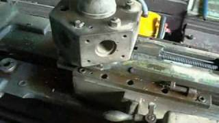 Turret Lathe Restoration - Turret Disassembly