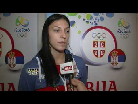 19 08 Rio2016, Tijana Bošković, izjava pred finale OI sa Kinom