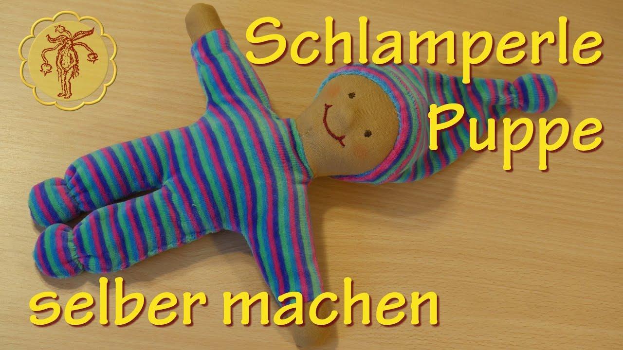 Schlamperle-Puppe selber nähen - YouTube