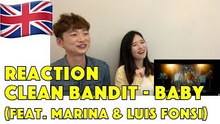 Korean Reaction Clean Bandit - Baby feat. Marina & Luis Fonsi [Official Video] Reaction Video