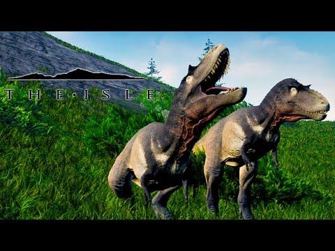 The Isle #66 - Caçando com Albertosaurus, o problema do sandbox (Gameplay PT/BR)