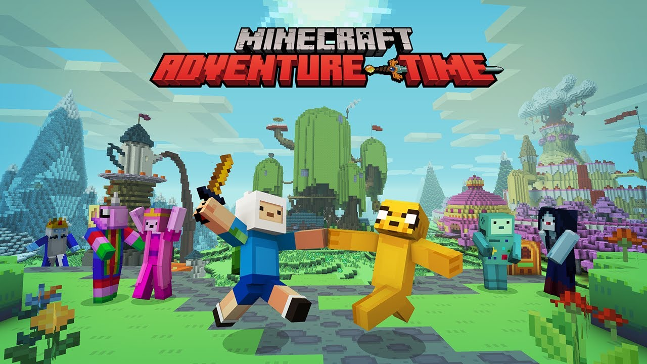 Minecraft Adventure Time Mash Up Pack