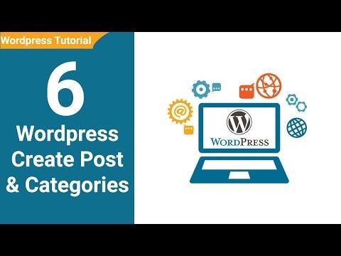 06  Wordpress Creating Post Wordpress tutorial for beginners in Urdu : Hindi Youtube thumbnail