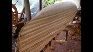 Ranger Prospector Wood Strip Canoe Build Part1