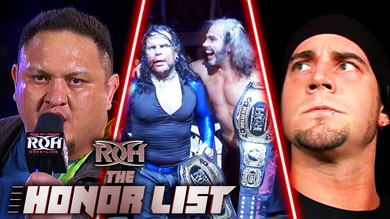 6 Most Shocking Returns in Ring of Honor History! ROH The Honor List
