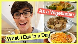 Hey, this is a look at what I eat, in a pretty standard day, as a v...