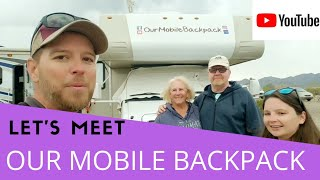 RV TOUR & INTERVIEW. LET'S MEET OUR MOBILE BACKPACK.