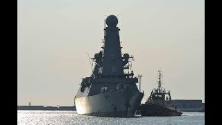 British, destroyer HMS Duncan arrive In Ukraine for NATO Black Sea drills (PHOTOS)