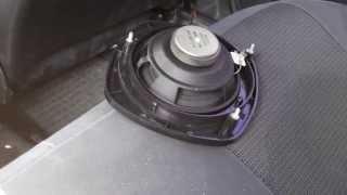 Смотреть видео стали хрипеть колонки в машине