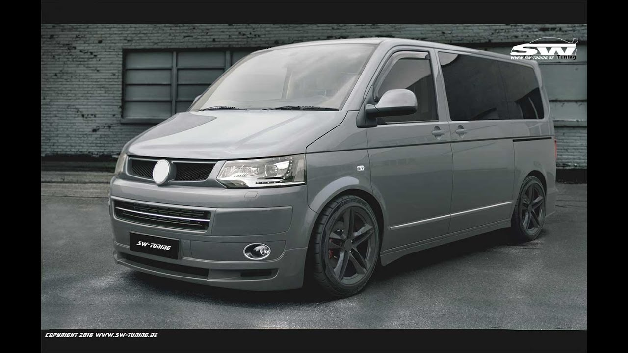 sw tuning bodykit vw t5 facelift st look youtube. Black Bedroom Furniture Sets. Home Design Ideas