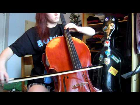 Over the misty mountains cold (cello cover)