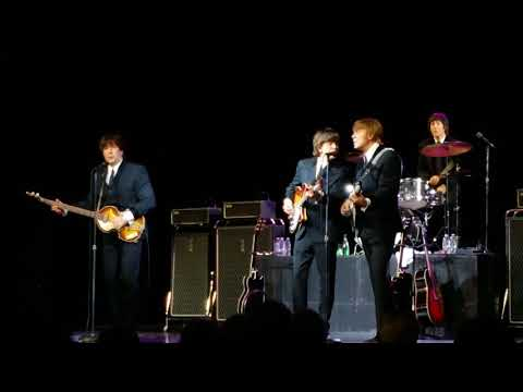1964 the Tribute performs their Beatles 12 string medley