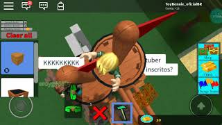 We made the most buggy boat of the ROBLOX (KK)
