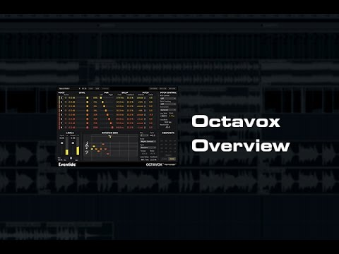 Eventide Octavox Harmonizer® Plug-in Overview