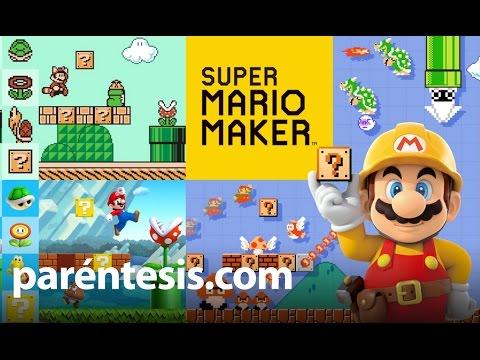 Super Mario Maker, reseña en español