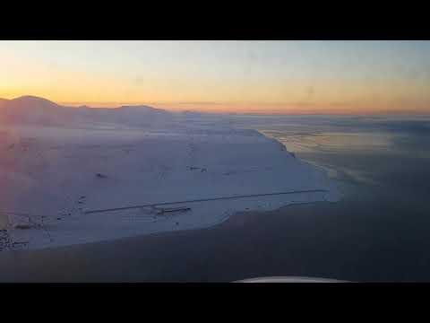 Part 2 - Longyearbyen, Svalbard take off on Norwegian