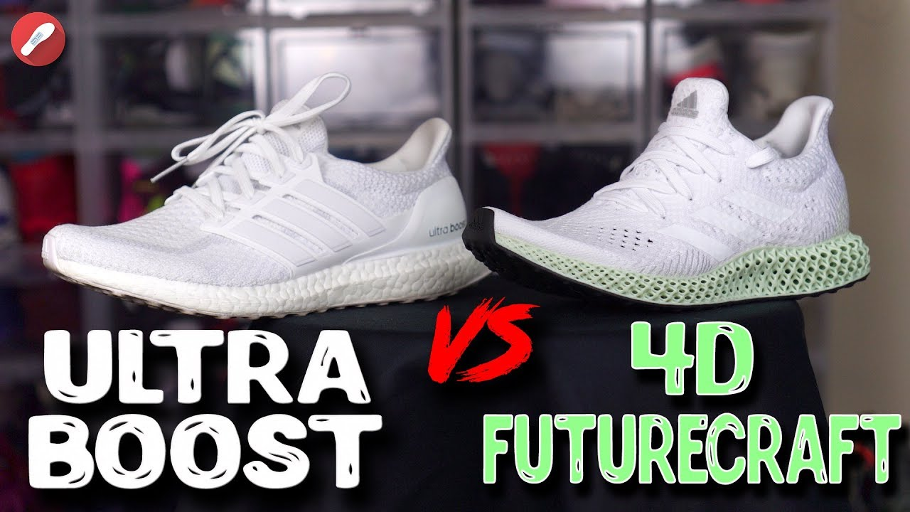 huge selection of 5382d 3104a Adidas UltraBoost vs 4D FutureCraft! What's Better?