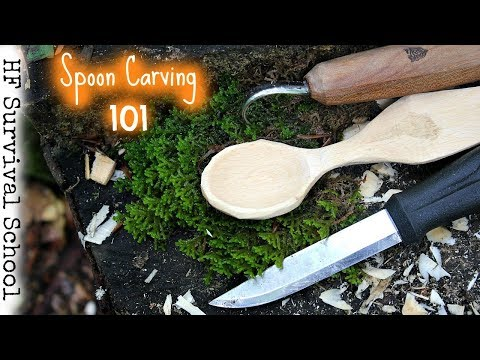 Spoon Carving : Step by Step Guide – 50 Woodworking Projects