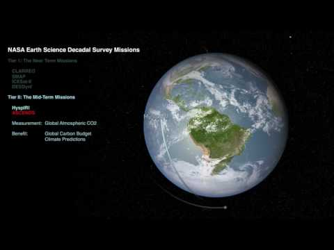Earth Science Decadal Survey Missions
