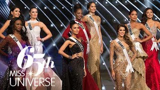 Miss Universe 2016 - TOP 6