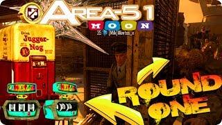 "BO3 Zombie Glitches: ""MOON"" AREA 51 WALK IN GLITCH - PaP & JUG ROUND 1 - Zombie Chronicles Glitches"