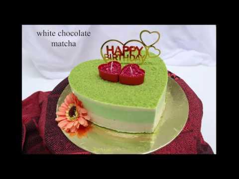 White Chocolate Matcha Cake, Cách Làm Bánh Sinh Nhật Đơn Giản,
