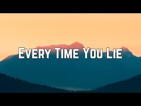 Demi Lovato - Every Time You Lie (Lyrics)
