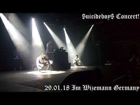 First Time Seeing $uicideboy$ Concert ! Stuttgart 29.01.18 Im Wizemann, Germany