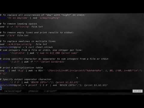 01 Scripting Cheat Sheet Linux Shell Tutorials 2018
