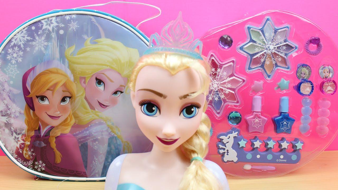 Maquillaje de frozen en espa ol bolso con accesorios y for Accesorio de dormitorio para adultos
