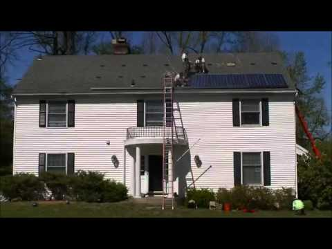 Solar Installation  Time lapse in Sleepy Hollow, NY