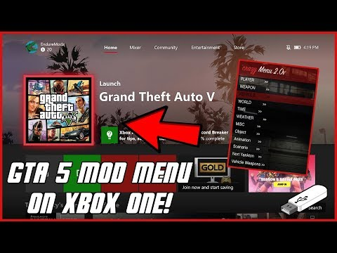 GTA 5 Online: How To Install Mod Menu On Xbox One, PS4, Xbox 360, & PS3) | Latest Patch! NEW 2019!