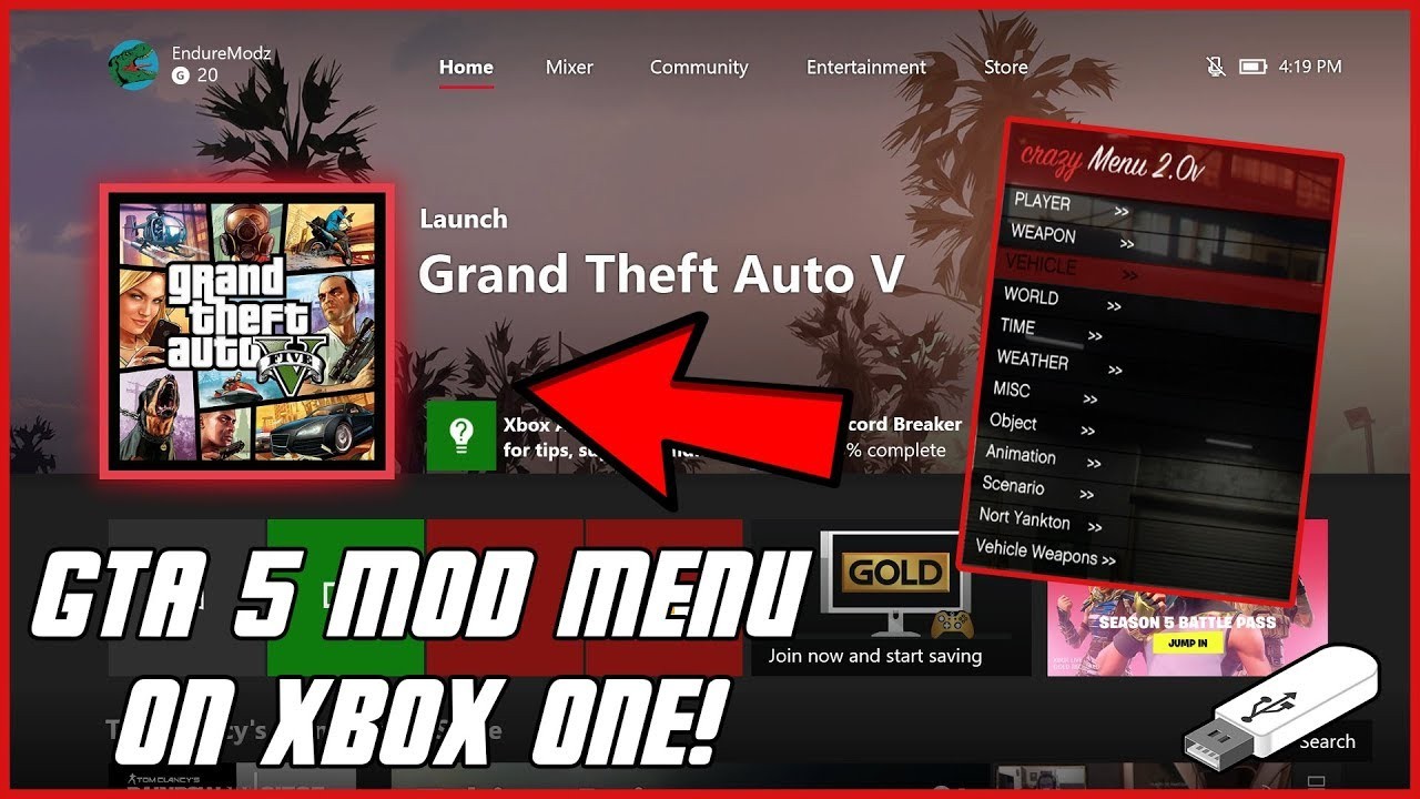 GTA 5 Online: How To Install Mod Menu On Xbox One, PS4 ...
