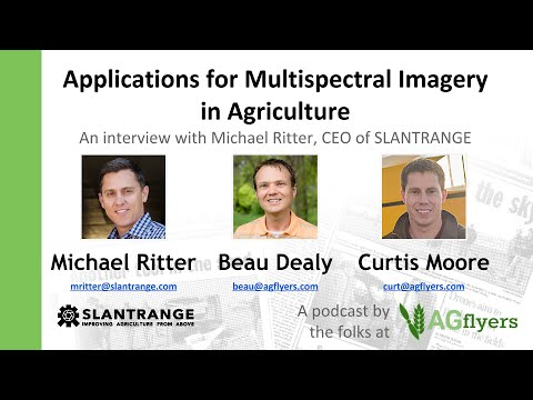 Applications for Multispectral Imagery in Agriculture