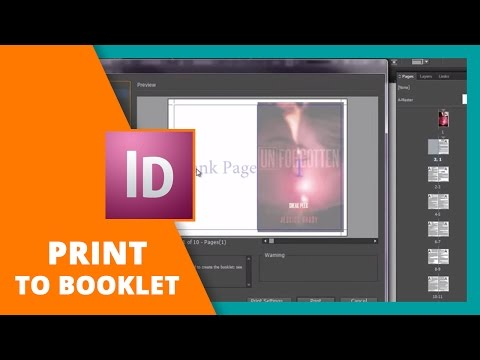 How to Print to Booklet in InDesign // BOOK DESIGN