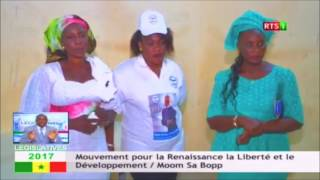 Législatives 2017: 7éme passage du Mouvement Mom Sa Bopp Menel Sa Bopp
