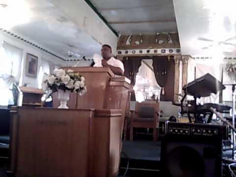 """Elder James Terrell Stevens """"Feelings v. Fillings"""" preaching the WORD!!!"""