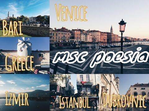 Travel with MSC: Venezia, Bari, Katakolon, Istanbul, Izmir, Dubrovnik