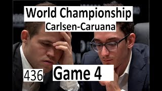 Carlsen-Caruana ¦ Game 4 ¦ VIDEOGATE!