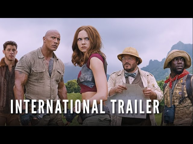 JUMANJI: WELCOME TO THE JUNGLE - International Trailer #2