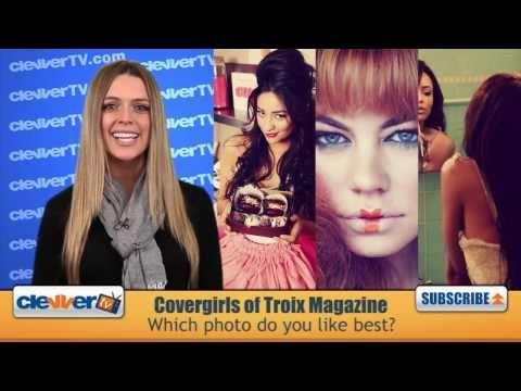 Troix Magazine Valentine's Cover Girls: Katerina G...
