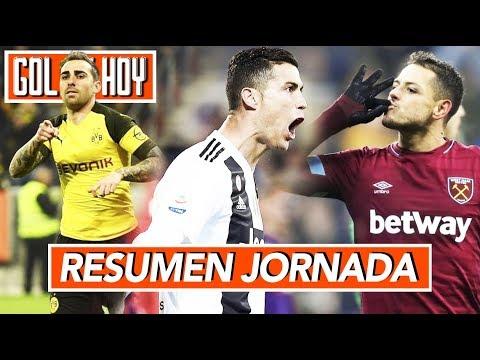 Gol de Cristiano, goleada de la Juve I Resumen Jornada GOL DE HOY