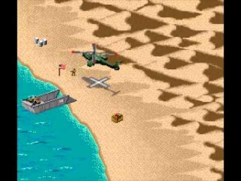 Super Nintendo Desert Strike Return To The Gulf Campaign 1
