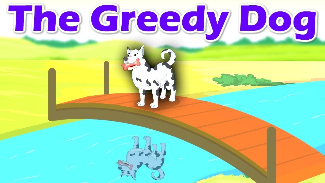 The Greedy Dog | Short Stories For Kids | English Story Collection | Short  Stories For Children