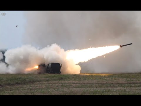 2nd Bn 14th Marine Rgmt Trains on Unique HIMARS System